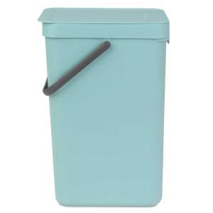 SORT & GO פח הפרדה 16 ליטר פלסטיק, מינט - Brabantia
