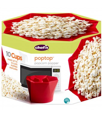 PopTop להכנת פופקורן לערב קולנוע בבית - הנחה 10% לנרשמים לניוזלטר