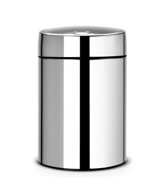 פח אשפה סלייד 5 ליטר מבריק Brabantia + הנחה 10% לנרשמים לניוזלטר