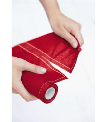 MYdrap - מיידרפ-גליל פלייסמט 12 Placemat בד 48/32 אדום - הזמינו היום 3 גלילים וקבלו בקופה 50% הנחה!