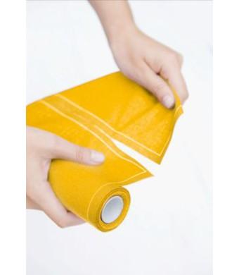 MYdrap - מיידרפ-גליל 12 מפיות בד 40/40 צהוב - הזמינו 3 גלילים וקבלו בקופה 50% הנחה!
