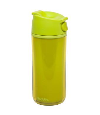 Flip & Sip - אלדין - כוס תרמית צהובה, פלסטיק  0.35 ליטר, ללא BPA + הנחה 10% לנרשמים לניוזלטר