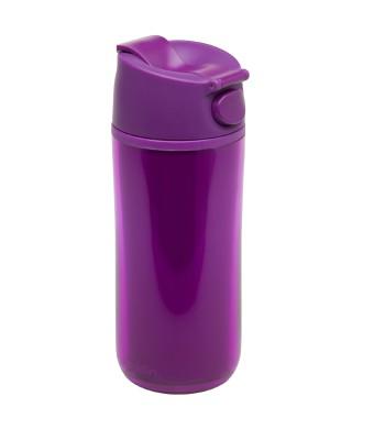 Flip & Sip - אלדין - כוס תרמית סגולה, פלסטיק  0.35 ליטר