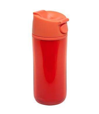 Flip & Sip - אלדין - כוס תרמית אדומה, פלסטיק 0.35 ליטר, ללא BPA + הנחה 10% לנרשמים לניוזלטר