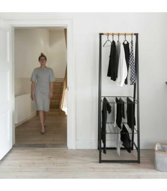 LINN מתלה בגדים עומד צר, שחור - Brabantia + עכשיו במבצע 30% הנחה + משלוח חינם!