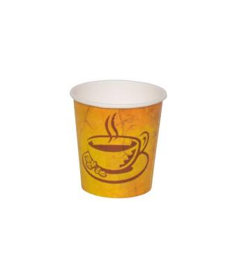 כוסות נייר גרניט Café Marble - כוסות נייר לשתיה חמה 100 מ״ל - קרטון 1000 כוסות במחיר מיוחד ללקוחות BRASS