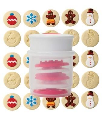 מעצב עוגיות עם חותמות חורף Chef'n + הנחה 10% לנרשמים לניוזלטר