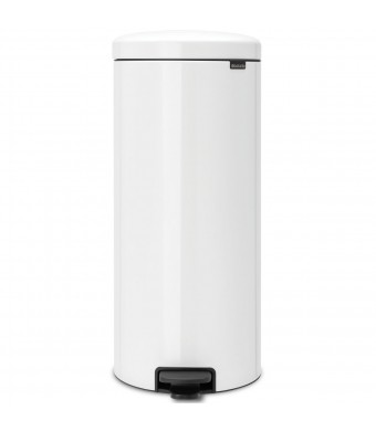 פח פדל 30 ליטר לבן Brabantia - NewIcon + הנחה 10% לנרשמים לניוזלטר + משלוח חינם