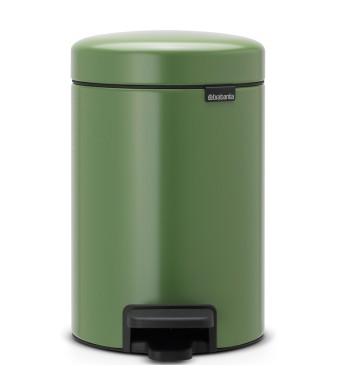 פח פדל 3 ליטר ירוק Brabantia - NewIcon + הנחה 10% לנרשמים לניוזלטר + משלוח חינם!