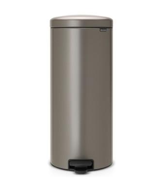 פח פדל 30 ליטר פלטינום Brabantia - NewIcon + הנחה 10% לנרשמים לניוזלטר