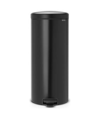 פח פדל 30 ליטר שחור מט  Brabantia - NewIcon + הנחה 10% לנרשמים לניוזלטר + משלוח חינם