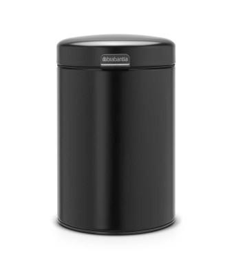 פח נתלה 3 ליטר שחור מט Brabantia - NewIcon + הנחה 10% לנרשמים לניוזלטר