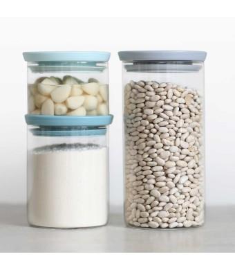 סט 3 מיכלי זכוכית Brabantia - הנחה 10% לנרשמים לניוזלטר