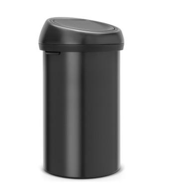 פח טאץ 60 ליטר שחור מט Brabantia + הנחה 10% לנרשמים לניוזלטר + משלוח חינם