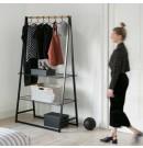 LINN מתלה בגדים עומד רחב, שחור - Brabantia + עכשיו במבצע 30% הנחה + משלוח חינם!