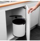 פח אשפה פנימי למטבח - מתחת לכיור 15 ליטר לבן Brabantia + הנחה 10% לנרשמים לניוזלטר ומשלוח חינם