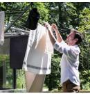 קרוסלת ייבוש כביסה Topspinner טופ ספינר, 50 מטר Brabantia + הנחה 10% לנרשמים לניוזלטר + משלוח חינם!