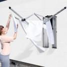 WallFix מתלה ייבוש כביסה 24 מטר עם מכסה נירוסטה Brabantia + הנחה 10% לנרשמים לניוזלטר + משלוח חינם