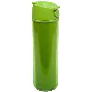 Flip & Sip - אלדין - כוס תרמית ירוקה, פלסטיק 0.47 ליטר, ללא BPA