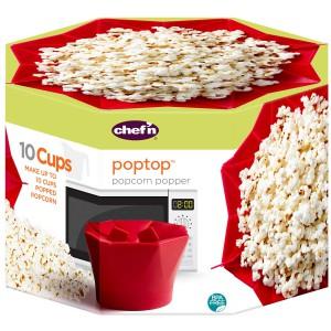 PopTop המקורי להכנת פופקורן טעים ובריא Chef'n + הנחה 10% לנרשמים לניוזלטר