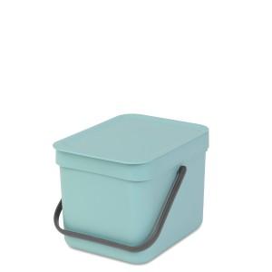 SORT & GO פח הפרדה 6 ליטר פלסטיק, מינט - Brabantia