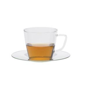 ספל תה מזכוכית - טרנדגלס - Nova + תחתית Trendglas JENA + הנחה 10% לנרשמים לניוזלטר