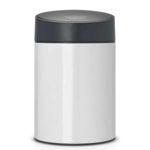 פח אשפה סלייד 5 ליטר לבן Brabantia + הנחה 10% לנרשמים לניוזלטר