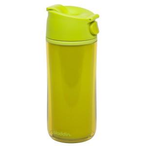Flip & Sip - אלדין - כוס תרמית צהובה, פלסטיק  0.35 ליטר, ללא BPA