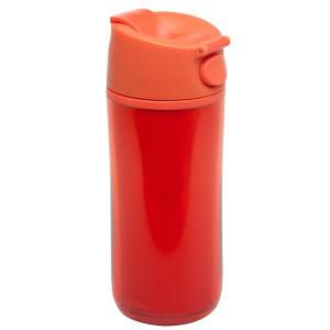 Flip & Sip - אלדין - כוס תרמית אדומה, פלסטיק 0.35 ליטר, ללא BPA