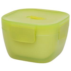 אלדין CRAVE - קופסת אוכל תרמית עם קערה 0.85 ליטר, ירוקה, ללא BPA