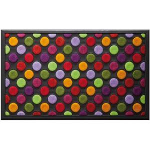 שטיח סף 45/75 ס״מ נקודות צבעוניות LAKO+ הנחה 10% לנרשמים לניוזלטר