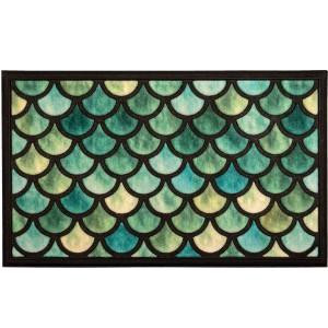 שטיח סף 45/75 ס״מ קשקשי דגיםLAKO+ הנחה 10% לנרשמים לניוזלטר