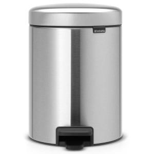 פח פדל 5 ליטר מט  Brabantia - NewIcon FPP + הנחה 10% לנרשמים לניוזלטר