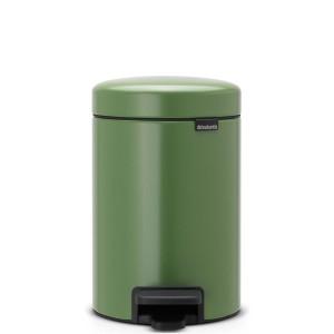 פח פדל 3 ליטר ירוק Brabantia - NewIcon + משלוח חינם + הנחה 10% לנרשמים לניוזלטר