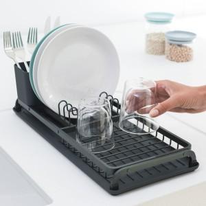 מתקן לייבוש כלים קטן - אפור כהה Brabantia - הנחה 10% לנרשמים לניוזלטר + משלוח חינם